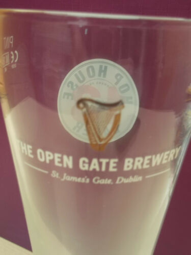 "/""Hop House 13/""   Guinness Brewer/'s Project tall pint glass"