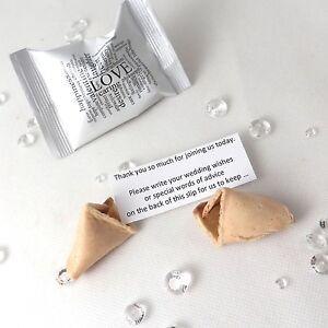 Details Zu Wedding Wishes Fortune Cookies Wedding Fortune Cookies Wedding Favours