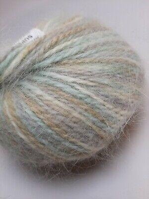 "ANNY BLATT /""Angora Super/"" Angora//Wool yarn multiple colors"