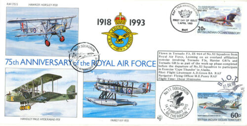 75th Anniverary of the RAF - RAF (75) 05 - No. 11 Squadron - 100 Only !