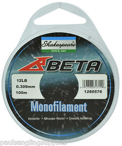 Shakespeare-Fishing-Line-ALL-SIZES-for-Coarse-Match-Rod-Reel-Or-hook
