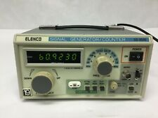 Elenco Sg-9500 Wide Band 6 Ranges 100khz to 450mhz RF Signal Generator Counter