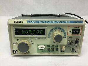 Elenco-SG-9500-Wide-Band-6-Ranges-100kHz-to-450MHz-RF-Signal-Generator-Counter