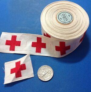 DEALER-LOT-198-total-WW2-US-American-Red-Cross-cap-device-DEALER-LOT-198-total