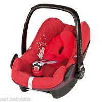 Siège Auto Pebble Bébé Confort Lifestyle Red