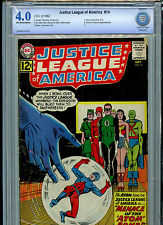 DC Comics Justice League of America #14 CBCS Graded 4.0 1962