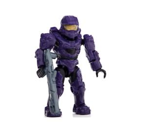 Purple UNSC Spartan Mark VI Halo Mega Bloks Series 8