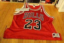 Vintage 90s Michael Jordan Champion Chicago Bulls #23 Jersey Size 48 XL 45 Mens