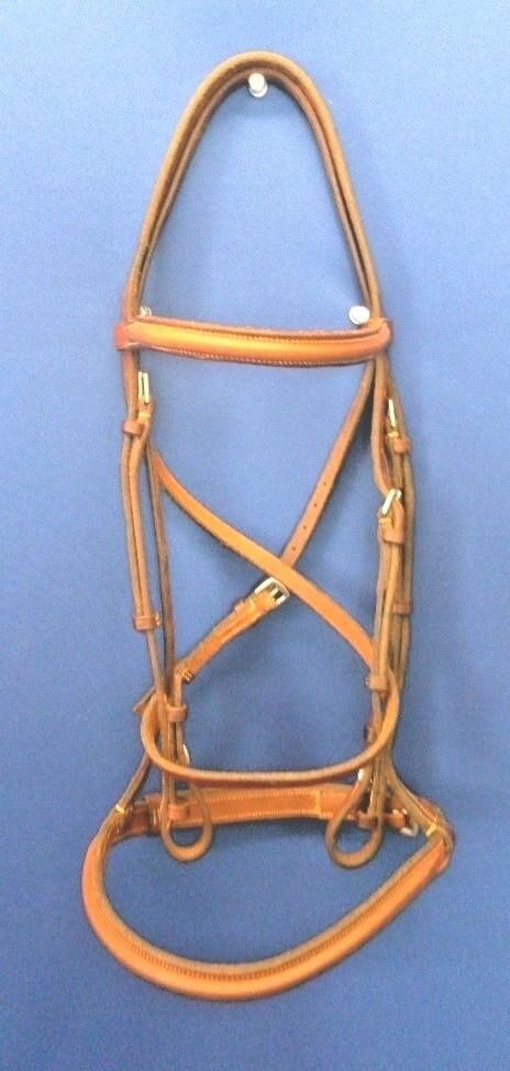 New Cavalry Bridle Standard(Non Padded) Plain  Raised Size 3 Standard Horse  all in high quality and low price