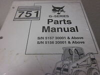 Bobcat 751 Series Skid Steer Loader Parts Manual