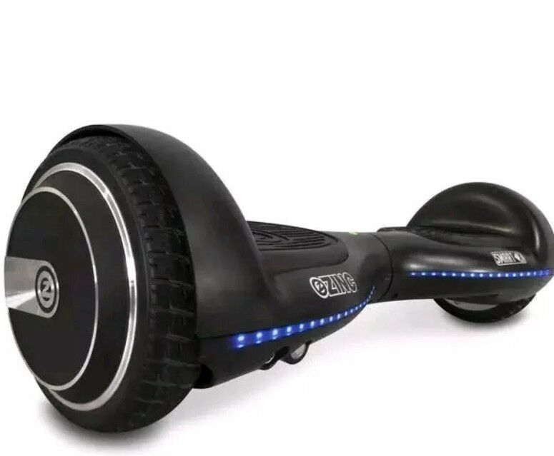 Zinc Smart X 25.2v Self Balancing Scooter bluee Led Lights UL 2272