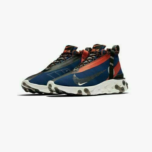 Size 10 - Nike React Runner Mid WR ISPA Blue Void 2018 for sale ...