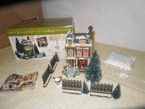 Vintage-Chancey-Corner-Dickens-039-Village-Gift-Set-Department-56-56-58352
