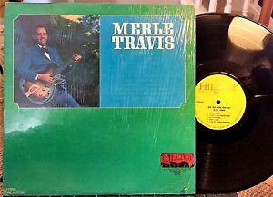MERLE-TRAVIS-LP-Our-Man-From-Kentucky-Hilltop-JM-6040-1967-NM