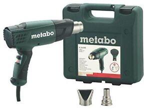 Metabo-1600W-PISTOLA-TERMICA-AD-ARIA-CALDA-VERNICE-Carta-Da-Parati-Stripper-H16500-240V-in-caso-di