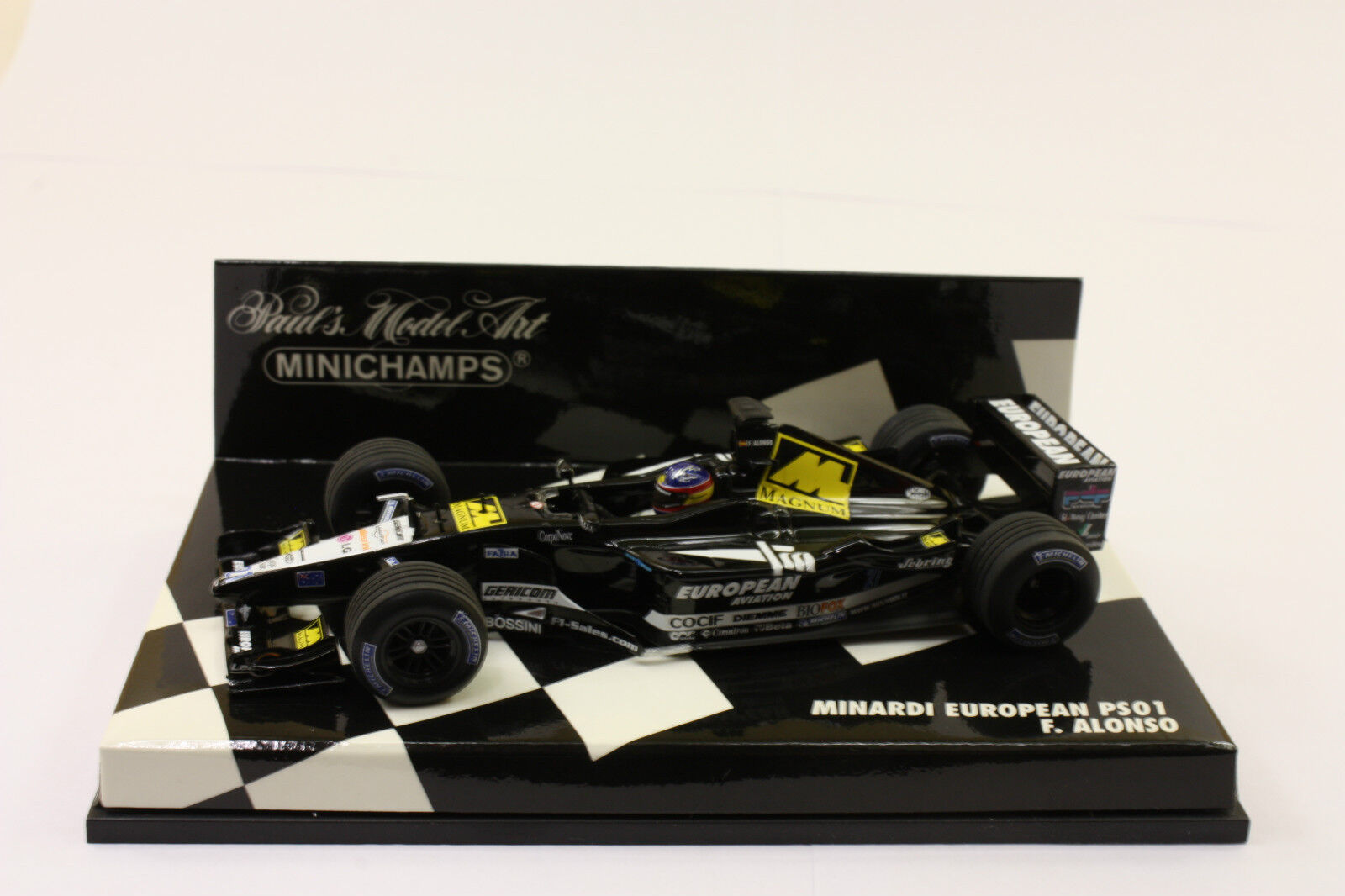 F. Alonso Minardi European PS01  Minichamps Nr. 400010020