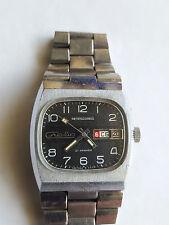 Soviet  russian SLAVA automatic TV case  watch, Ca 2427, 1980's