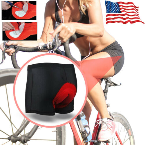 Details about  /Cycling Shorts Bicycle Bike MTB Underwear Pants With Gel 3D Padded For Men Women