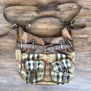 Authentic Drawstring Burberry Orp 2100 Shoulder Bag Crossbody PanqqU41I