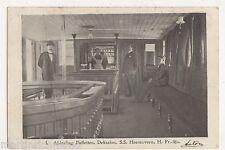 S.S. Heerenveen, Friesland Line, Early 1902 Holland Postcard, B523