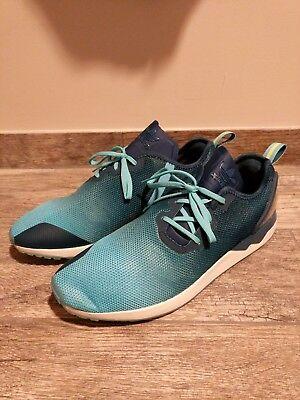 the latest 5e004 2df00 NEW! Adidas ZX Flux ADV Asymmetrical Blue Training Shoes - S79056 - Sz 13 |  eBay