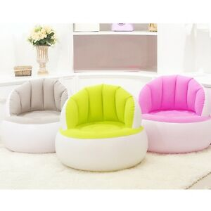 New Inflatable Sofa Adult Children Air Seat Chair Lazy