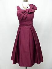 Cherlone Purple Prom Ball Bridesmaid Evening Party Wedding Formal Dress 22-24