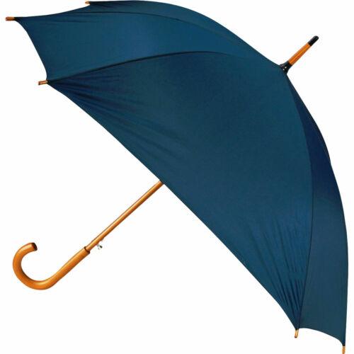 3 Wedding Automatic 8 rib square umbrellas curved wooden handle Ø106cm 5 colours