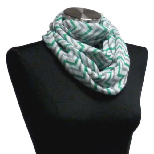 WHOLESLAE 10pc Teal Gray Infinity Sheer Scarf wrap MOTHERS DAY GIFT Lot