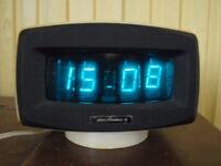 RARE VINTAGE SOVIET RUSSIAN USSR VFD NIXIE TUBE CLOCK ELEKTRONIKA G9-04 1984