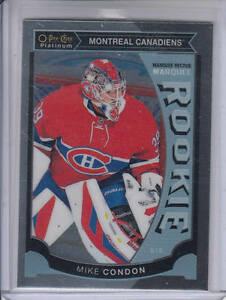 15-16-OPC-Platinum-Montreal-Canadiens-Mike-Condon-Rookie-RC-card-M32