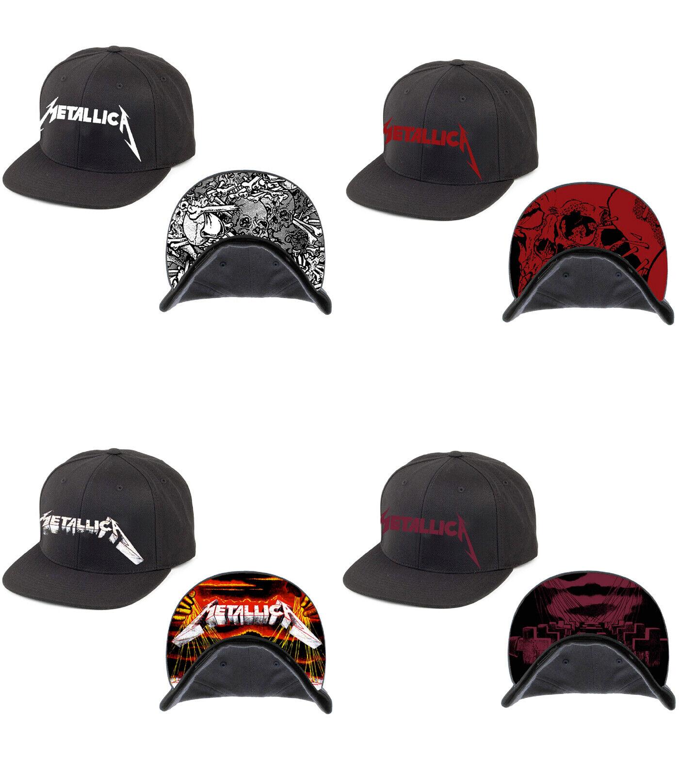 Garage Days Re Black Baseball Cap Revisited Silver Logo Official Metallica