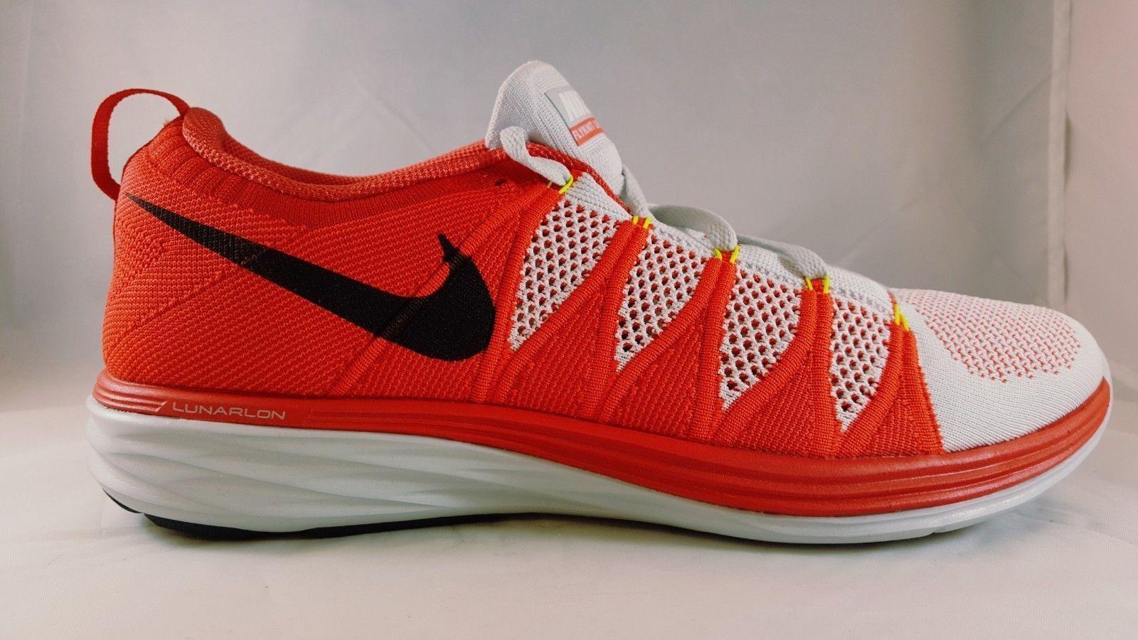 Nike FlyknitLunar2 Men's Running 620465 006 Size 12
