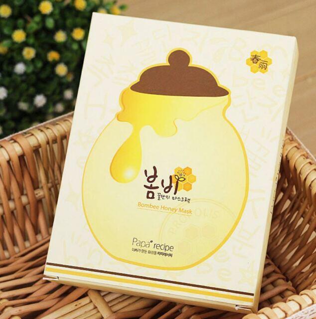 PAPA RECIPE Bombee Honey Mask Sheet 10pcs Moisturizers