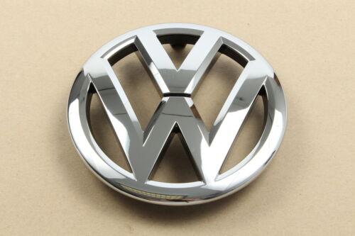 Originales de VW 1t0853601e Ulm en letras logotipo emblema caddy cromo colores//negro
