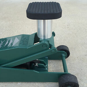 100mm Tall Floor Jack Extender With 25mm 30mm Stem Ebay
