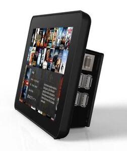 Oficial-7-034-Raspberry-pi-pantalla-tactil-Premium-Estuche-Negro