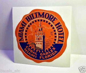 Florida Alligator Vintage Style Travel Decal Vinyl  Sticker Luggage Label