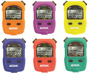 ULTRAK-460-Stopwatches-RainBow-Six-Pack-Special-1-1000-Sec-Resolution-16-Memory