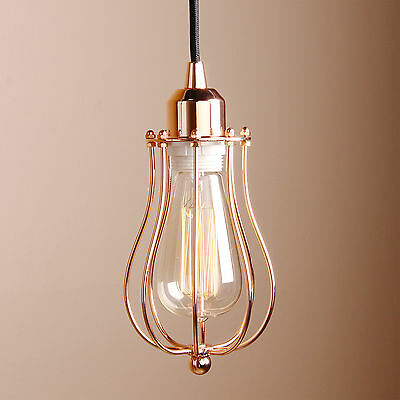 MODERN INDUSTRIAL METAL SHADE  PENDANT  LIGHT SMALL CEILING LAMP