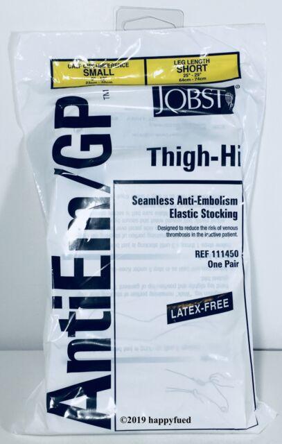 98bc76438 BSN JOBST 76lzzs1 1 EA 111450 Anti-embolism Thigh-high Seamless Elastic