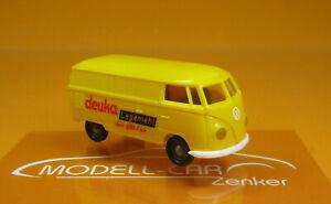 Brekina-32057-VW-Kasten-T1a-Deuka-Legemehl-Scale-1-87