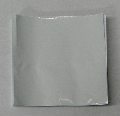 "White Candy Foil Wrappers Confectionery Foil 500 Count 3""x3"" 4""x4"" 6""x6"" Latest Fashion Baking Accs. & Cake Decorating Other Baking Accessories"