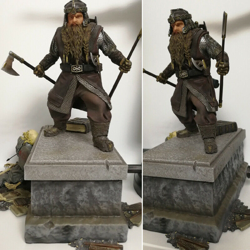 Iron Studios Gimli Statue Figure BDS Art Scale 1/10 The Lord of the Rings Model on eBay thumbnail