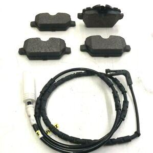 Pastillas-de-Freno-Trasero-amp-Sensor-Para-BMW-1-Series-E81-E82-E87-E88-de-2005-a-2010