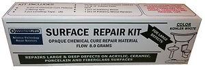 BATH SHOWER TRAY REPAIR KIT WHITE CERAMIC ENAMEL ACRYLIC 8 0 GRAMS EBay