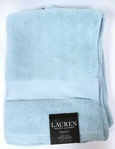 NEW-RALPH-LAUREN-WESCOTT-BLUE-100-COTTON-BATH-TOWEL-30-034-x-56-034