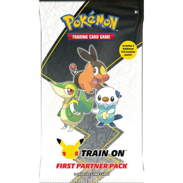 Pokemon Unova First Partner Pack June Release