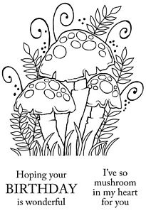 THREE-TOADSTOOLS-Clear-Magic-Stamp-Woodware