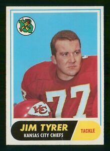 JIM TYRER 1968 TOPPS 68 NO 15 VG+  37082